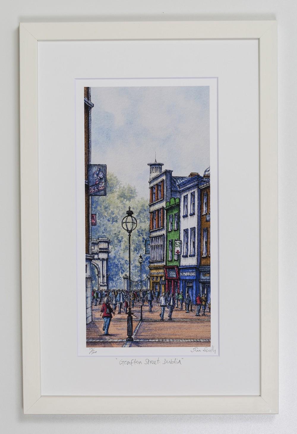 Grafton-Street-2-Dublin-Portrait-Frame