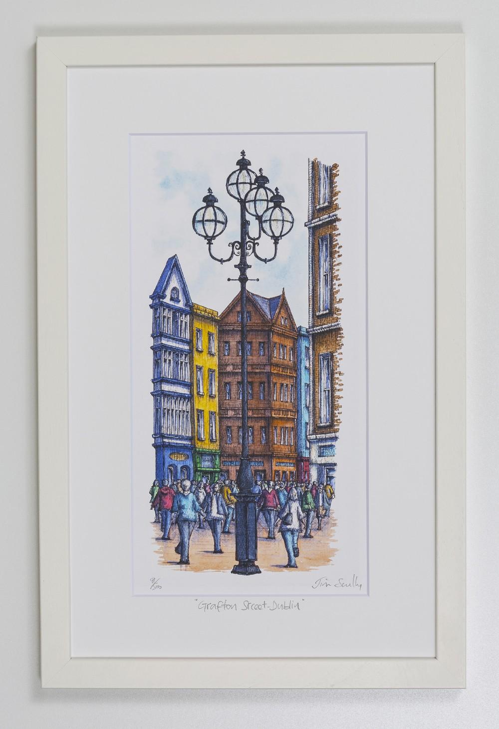 Grafton-Street-Dublin-Portrait-Frame