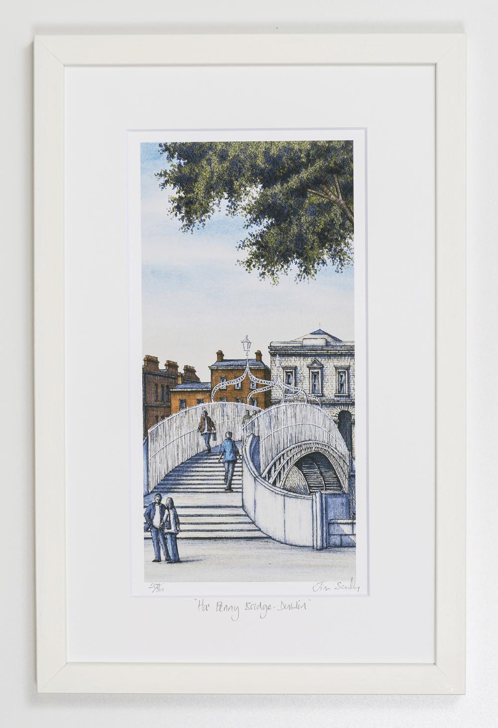 Ha-Penny-Bridge-Dublin-Portrait-Frame