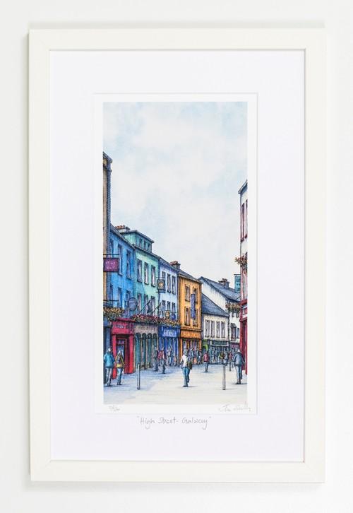High-Street-Galway-Portrait-Frame
