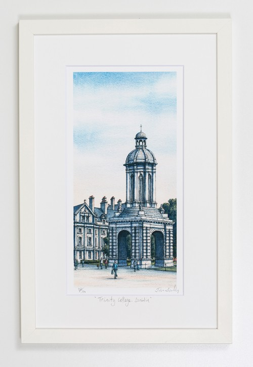 Trinity-College-Campanile-Dublin-Portrait-Frame