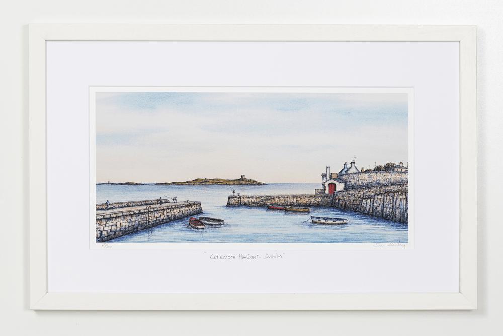Coliemore-Harbour-Dublin-Landscape-Frame