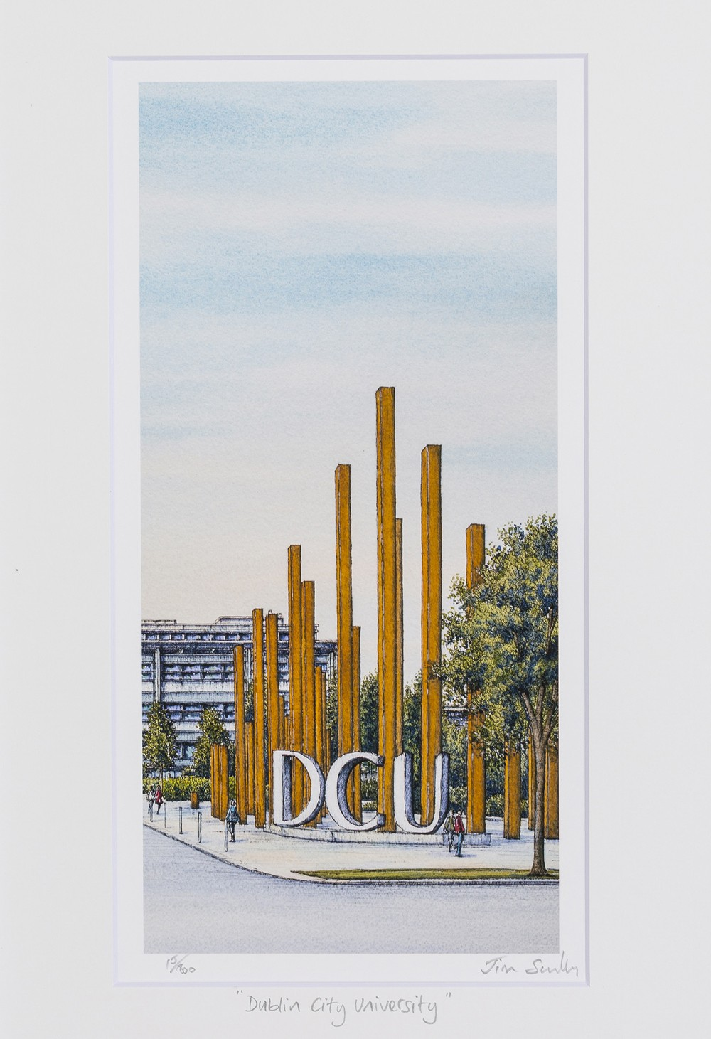 Dublin-City-University-Portrait-Frame