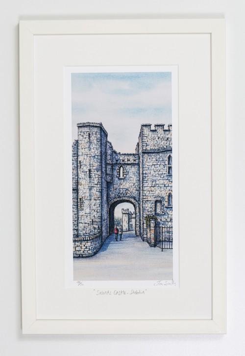 Swords-Castle-Dublin-Portrait-Frame