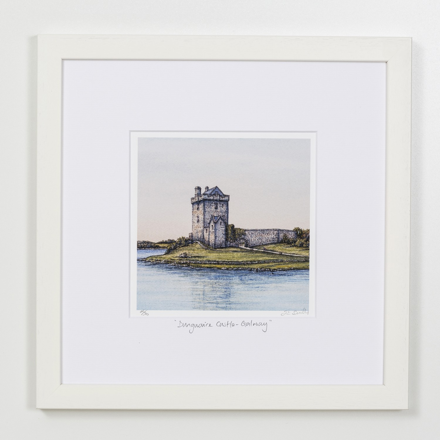 Dunduaire-Castle-Galway-Square-Frame